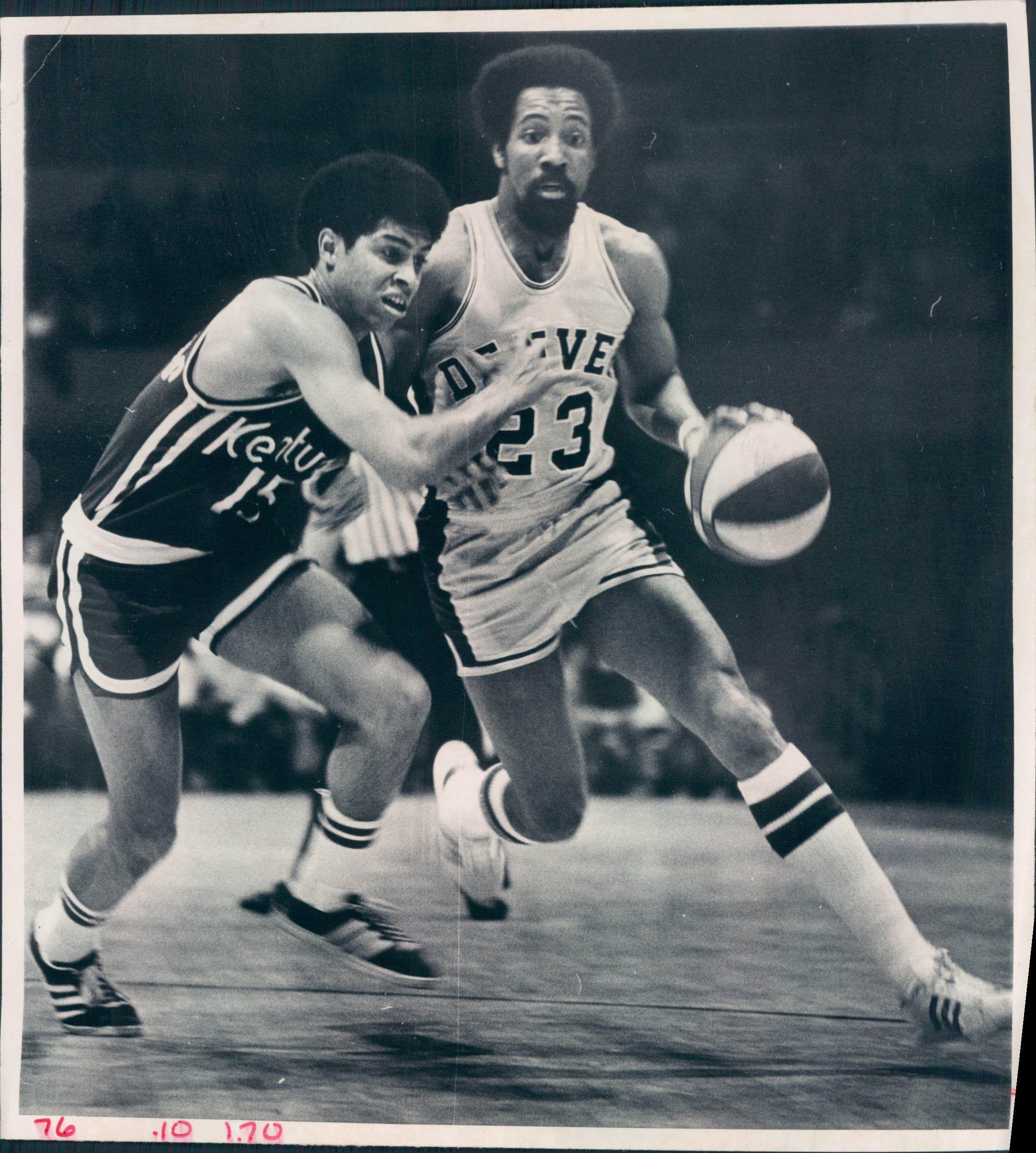 Nuggets X Rockets: 1974-76 Denver Rockets And Denver Nuggets ABA