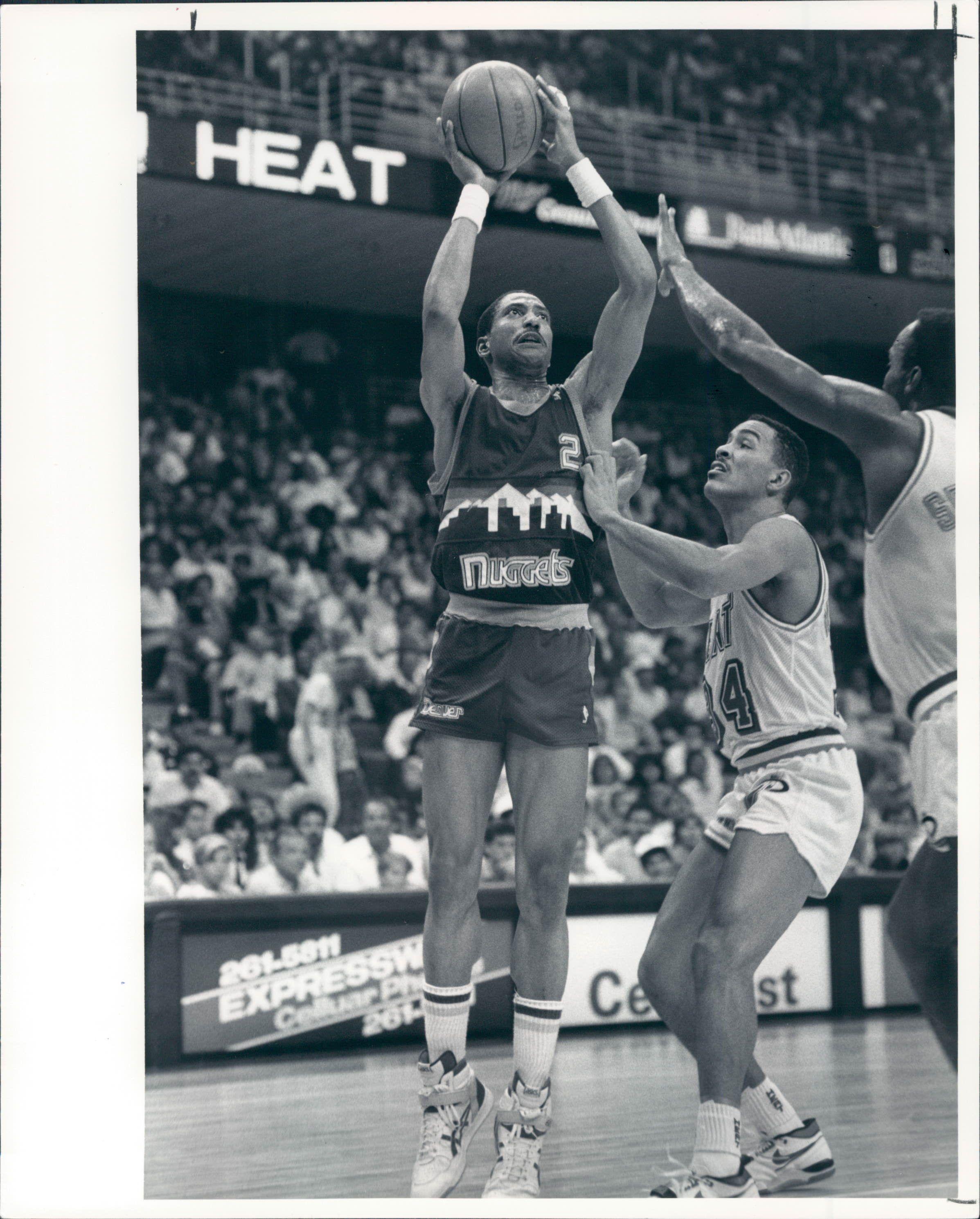 Nuggets English: 1977-89 Alex English Denver Nuggets Bucks