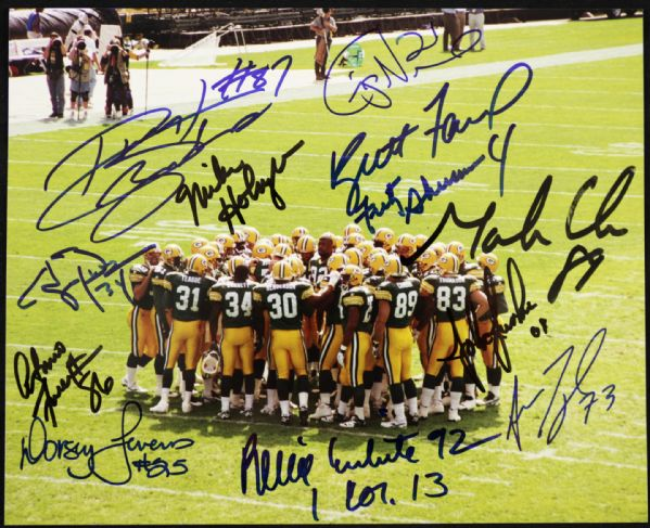 1995 Green Bay Packers Legends in Fact 75th Anniversary in the NFL