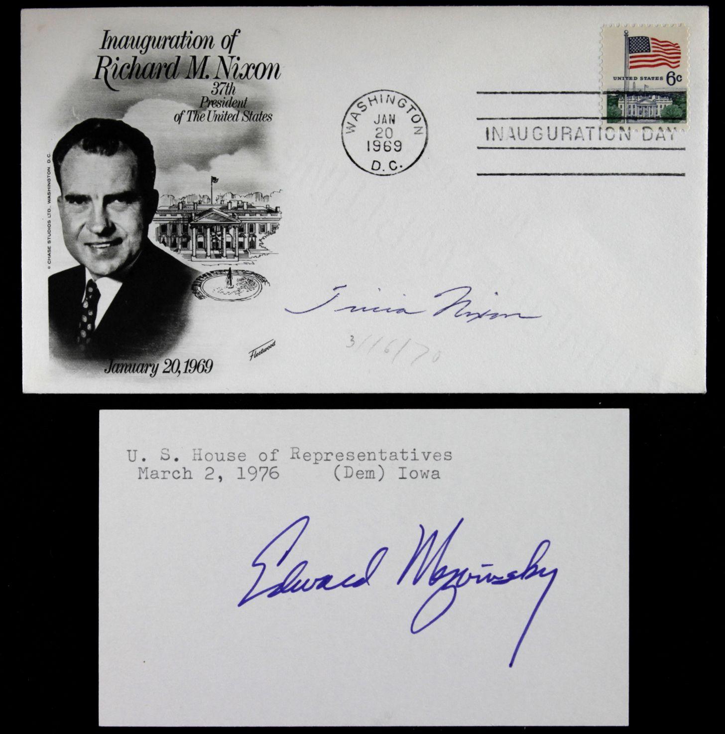 Impeachment Of Nixon Lot Detail - 1972 Rich...