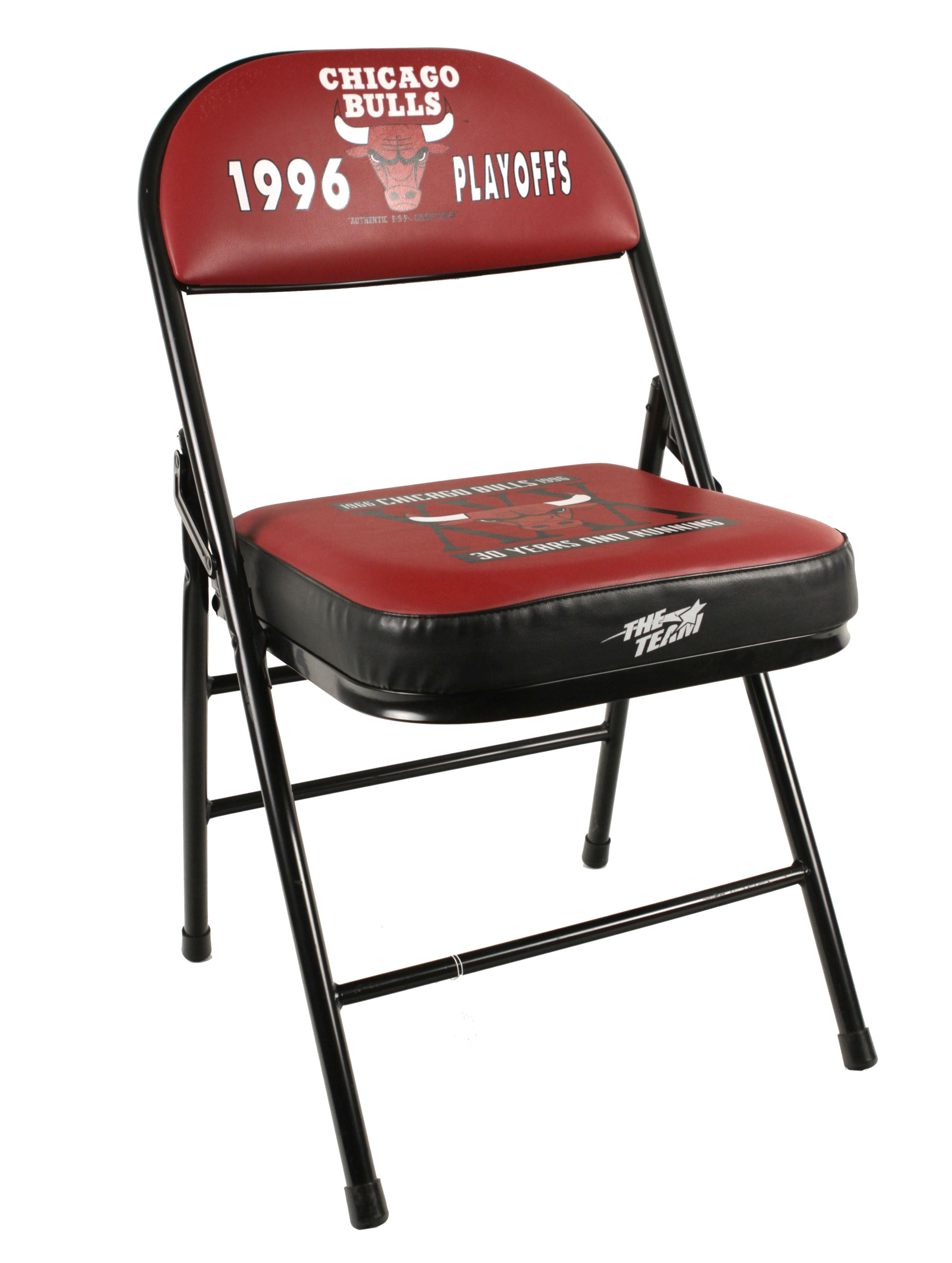 lot detail 1996 chicago bulls playoff seat used during record setting season in playoffs w loa. Black Bedroom Furniture Sets. Home Design Ideas