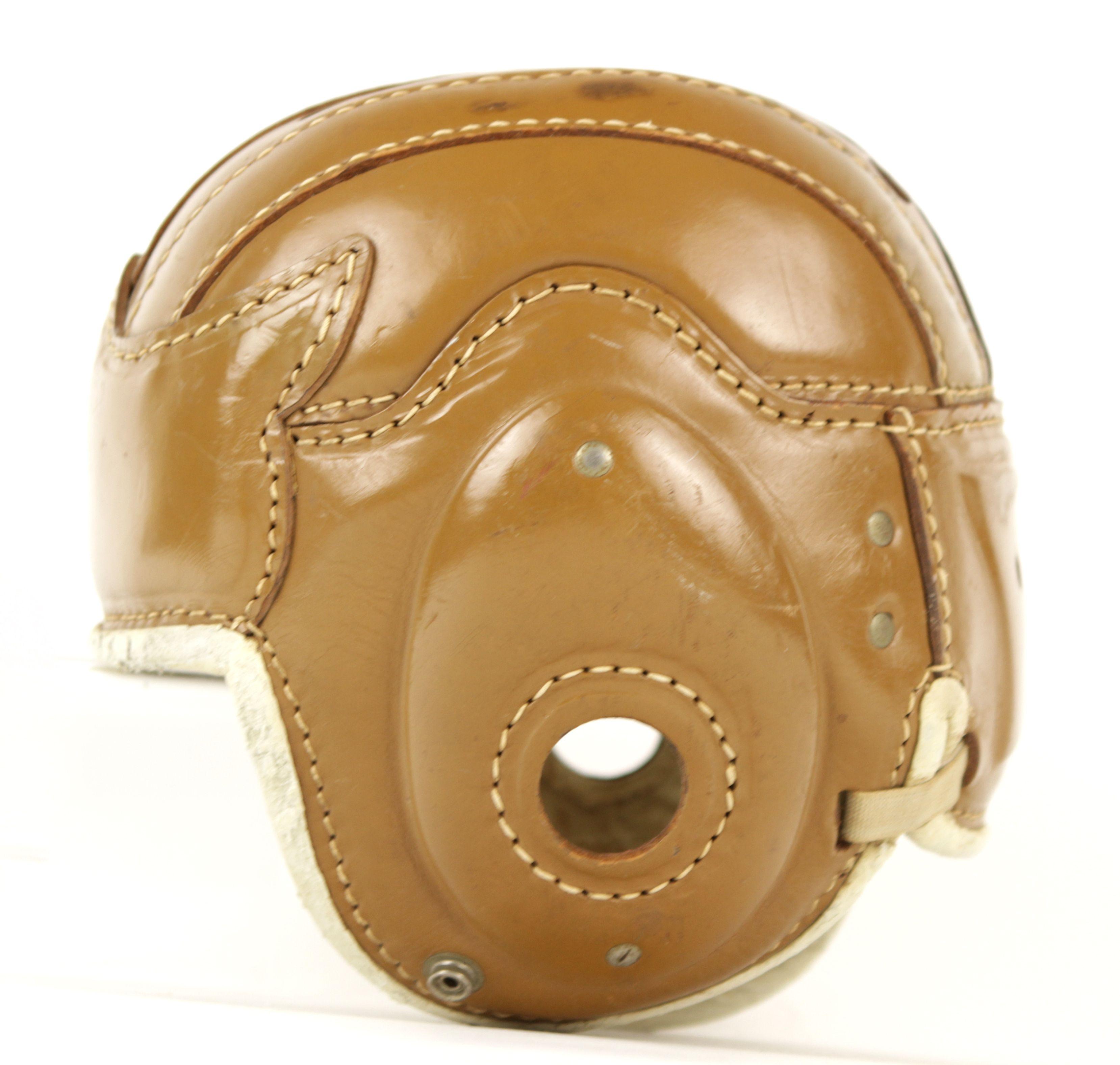 Vintage Leather Football Helmets 57