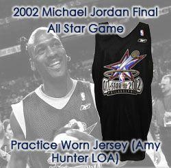Lot Detail 2002 Michael Jordan Chicago Bulls Washington
