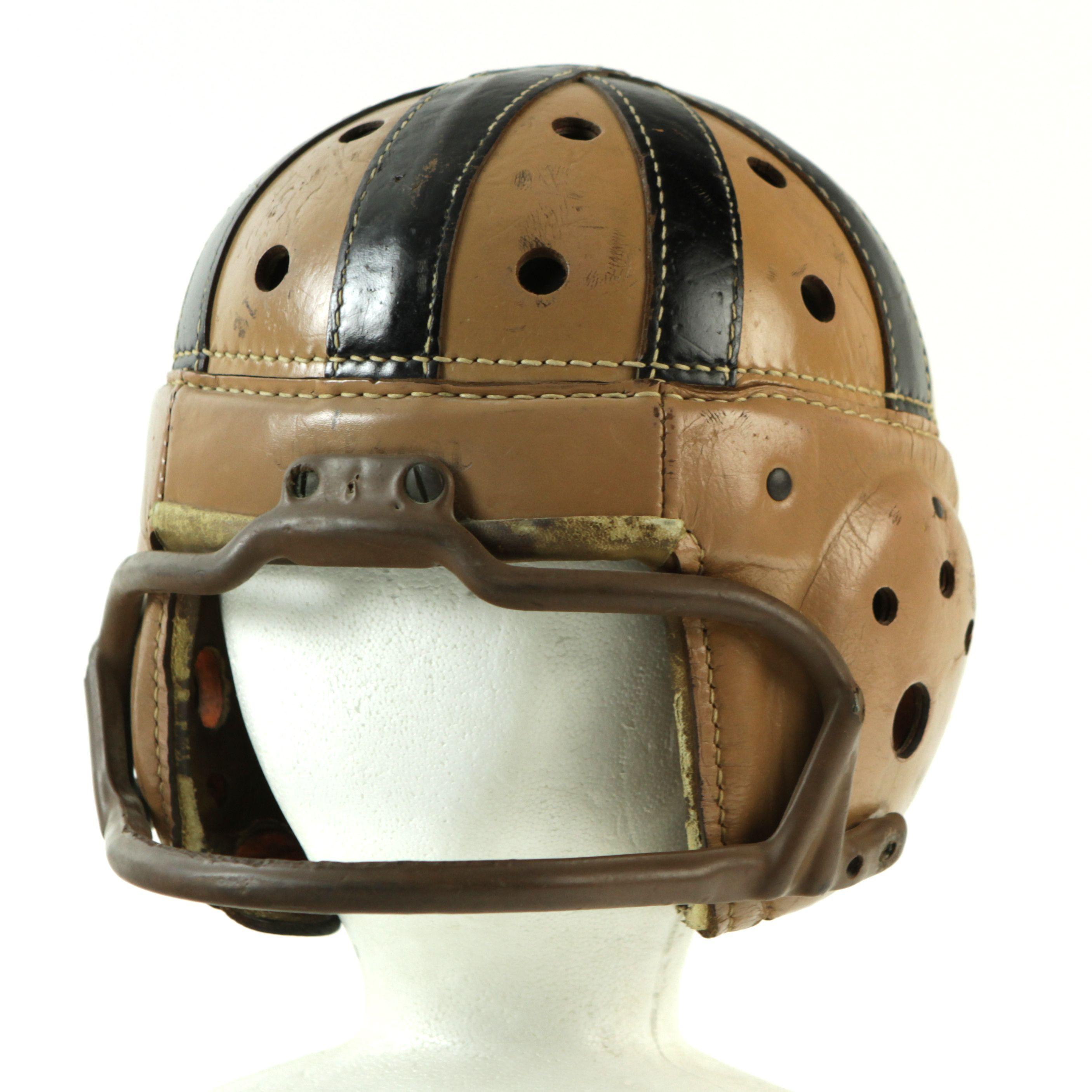 Vintage Leather Football Helmets 34