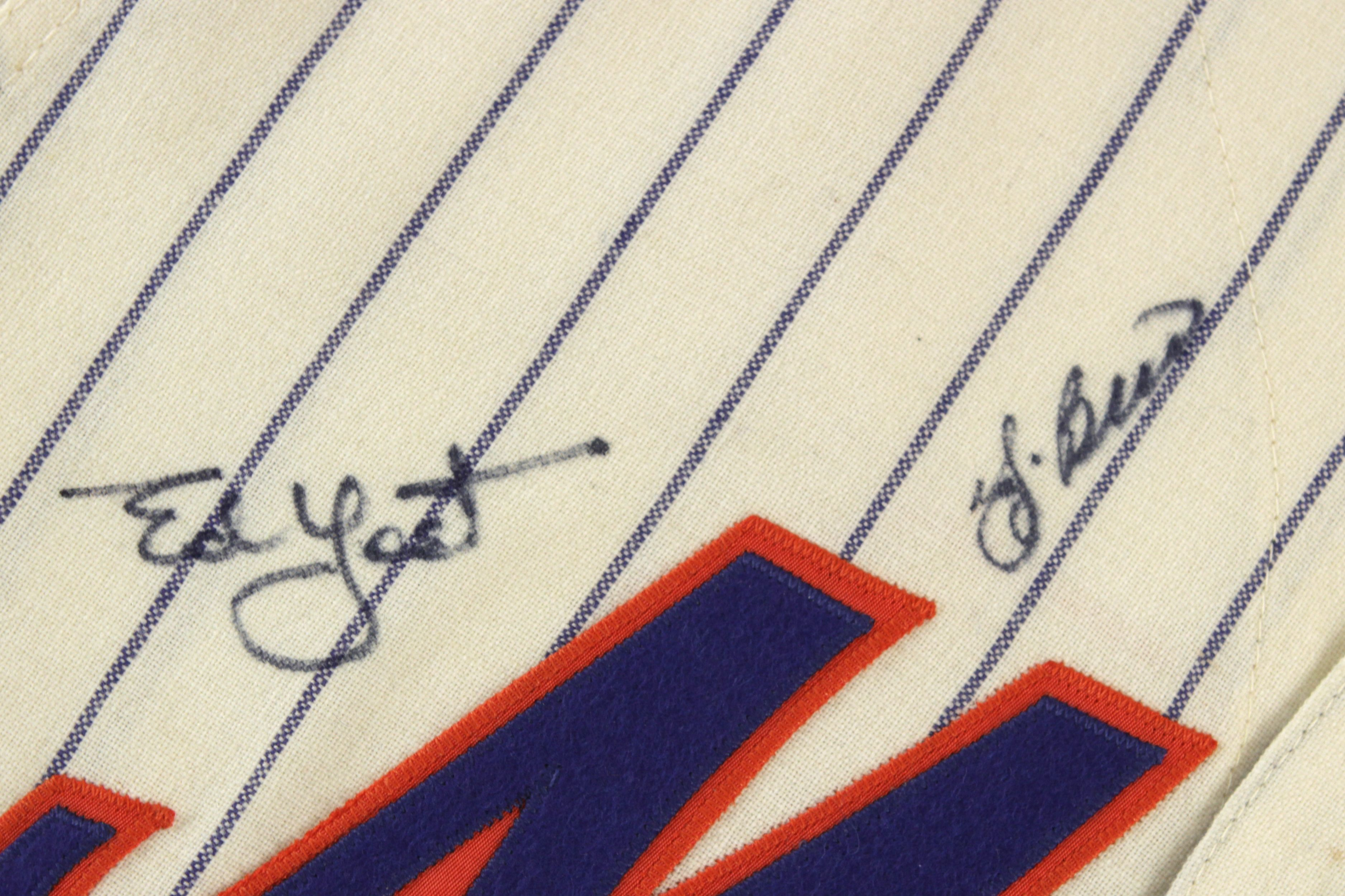 Lot Detail 1969 New York Mets Signed Mitchell Amp Ness