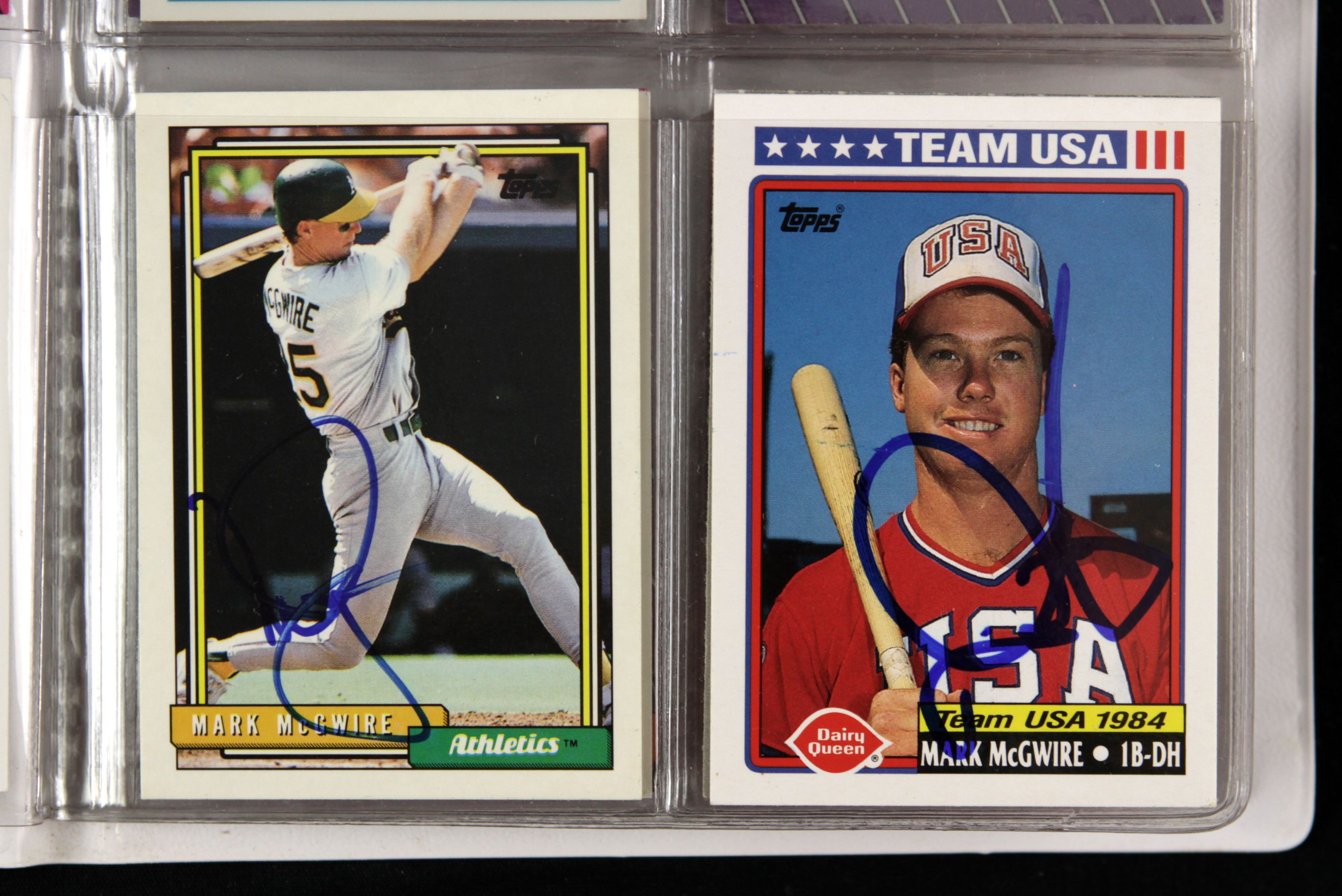 Lot Detail 19880 93 Mark Mcgwire Oakland Athletics