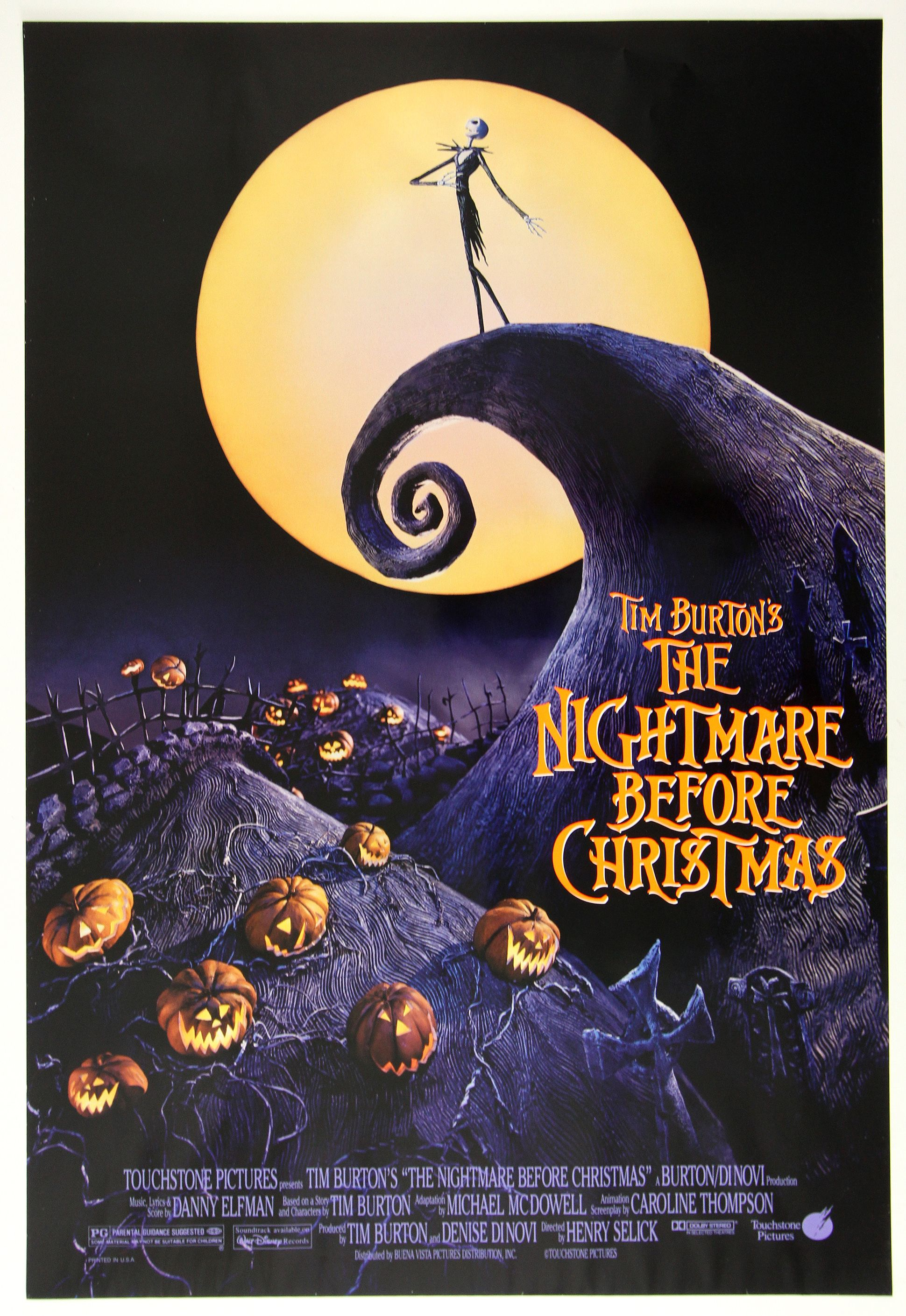 Where to watch The Nightmare Before Christmas stream online from anywhere