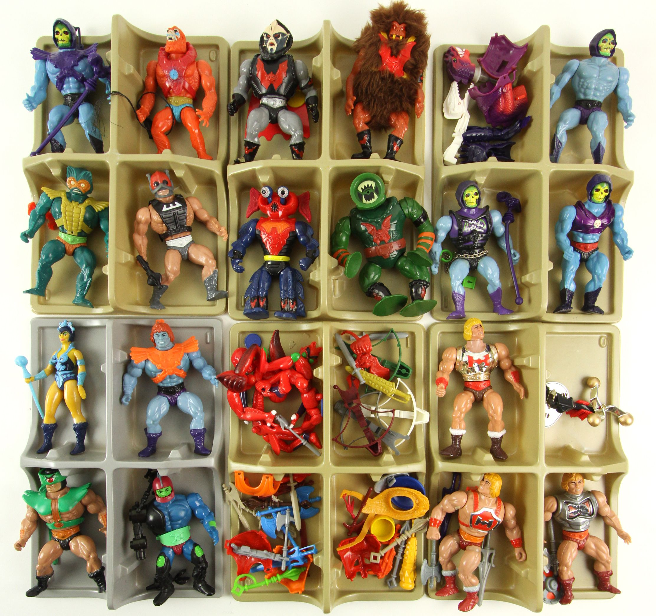 Masters Of The Universe Toys : Lot detail  he man masters of the universe
