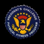 "1980s-90s Presidents Challenge Physical Fitness Program 1 3/4"" Pinback Button"