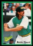 1992 Robin Yount Milwaukee Brewers Teagues League Baseball Card