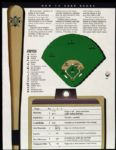1996 Milwaukee Brewers Detroit Tigers Scorecard
