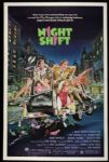"1982 Night Shift One Sheet (27"" x 41"") Original Movie Poster  Winkler Howard"