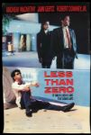"1987 Less Than Zero One Sheet (27"" x 41"") Original Movie Poster"