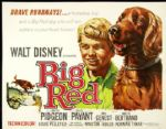 "1962 Walt Disney Presents Big Red 1/2-Sheet (28""x22"") Original Movie Poster"