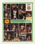 "1986 Milwaukee Bucks Miller Lite Poster 18"" x 24"""