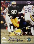 1977-87 Ezra Johnson Packers Signed Autographed 8 x 10 Photo JSA
