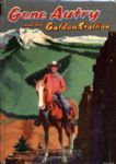 1954 Gene Autry & The Golden Stallion HC Book by Cole Fannin - Whitman