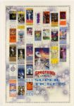 "1992 Seagrams Coolers Super Bowl Tickets Poster 27"" x 39"""