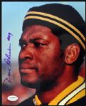 1963-72 Dave Robinson Green Bay Packers Signed Auto 8 x 10 Photo HOF JSA