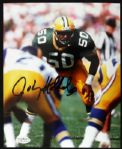 1987-93 Johnny Holland Packers Signed Autographed 8 x 10 Photo JSA Hologram