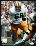 1966-76 Gale Gillingham Green Bay Packers Signed Auto 8 x 10 Photo JSA Hologram