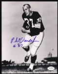 1966-69 Phil Vandersea Green Bay Packers Signed 8 x 10 Photo JSA Hologram