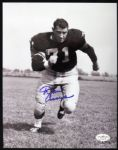 1958-64 Dan Currie Packers Signed Autographed 8 x 10 Photo JSA Hologram