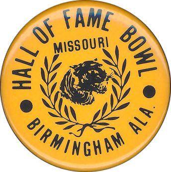 Item Detail - 1979 Missouri vs. South Carolina Hall of ...