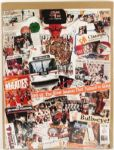 "1991-92 Chicago Bulls NBA Champions Collage Poster 24"" x 32"""