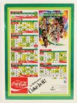"1982 Milwaukee Bucks Central Division Champions Schedule Poster 22"" x 30"""