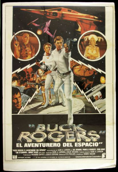"1979 Buck Rogers 1-Sheet (27"" x 41"") Original Spanish Language Movie Poster"