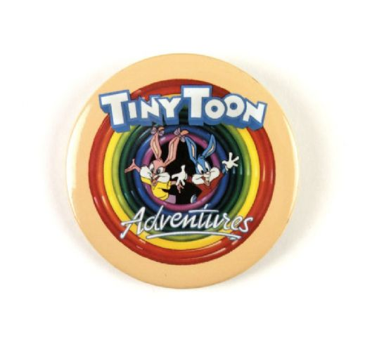 1989 Warner Brothers Tiny Toon Adventures 2 Movie Pinback Button
