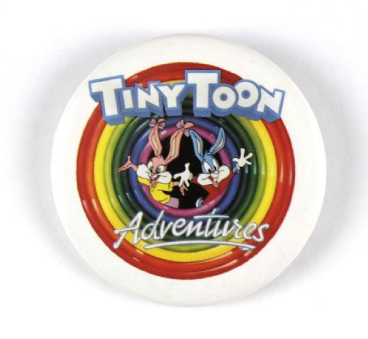 1989 Warner Brothers Tiny Toon Adventures 2 1/4 Movie Pinback Button