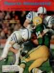 1968 Sports Illustrated Magazine w/ Baltimore Colts Green Bay Packers Cover