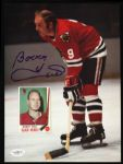 1957-72 Bobby Hull Chicago Blackhawks Signed Autographed Photo 8 x 10 HOF JSA