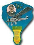 1927-28 Charles Lindbergh Advertising Fan