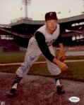 1953-68 Pittsburgh Pirates Elroy (Roy) Face Auto 8x10 Color Photo JSA Hologram