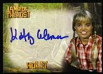 2013 Kathy Coleman Holly Land of the Lost Signed Card
