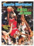 "1984 Michael Jordan Chicago Bulls ""A Star is Born"" 20"" x 28"" SI Cover Poster"