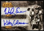 2013 Wesley Eure Kathy Coleman Will Holly Land of the Lost Signed Card