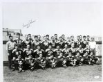 1936-38 Bernie Scherer Green Bay Packers Team Frank Stanfield Autographed Original 16x20 Hand Developed Photograph (JSA)
