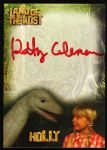 2013 Kathy Coleman Holly w/ Dopey Land of the Lost Signed Card