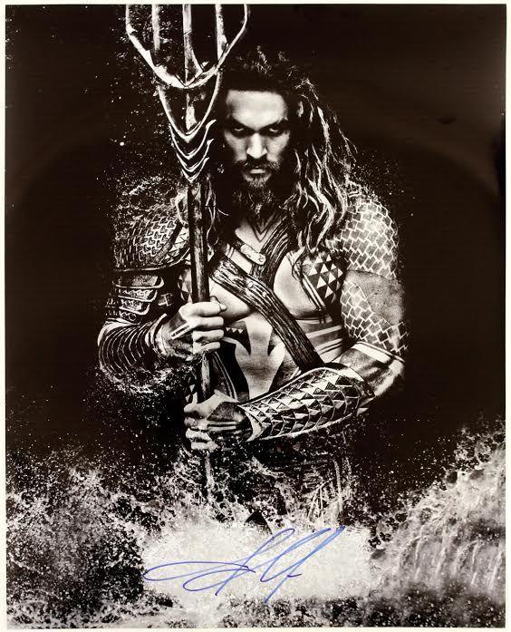 2015 Jason Momoa Aquaman Autographed 16x20 Photo