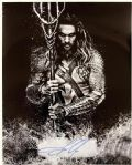 2015 Jason Momoa Aquaman Autographed 16x20 Photo