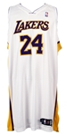 2006-07 Kobe Bryant Los Angeles Lakers Home Jersey (MEARS LOA)
