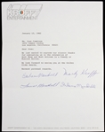 "Barbara Mandrell 8""x 11"" Typed Letter Signed"
