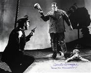 1939 Donnie Dunagan Son of Frankenstein (depicting Peter and Policeman) Signed LE 16x20 B&W Photo (JSA)