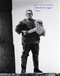 1939 Donnie Dunagan Son of Frankenstein (Frankenstein carrying Peter) Signed LE 16x20 B&W Photo (JSA)