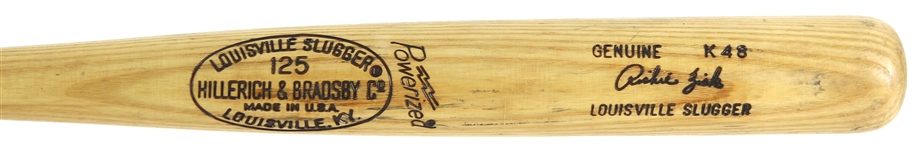 1977-79 Richie Zisk White Sox/Rangers H&B Louisville Slugger Professional Model Game Used Bat (MEARS LOA)