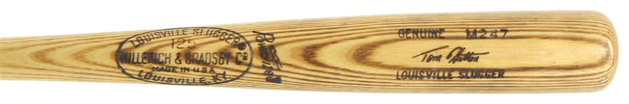 1977-79 Tom Hutton Phillies/Blue Jays/Expos H&B Louisville Slugger Professional Model Bat (MEARS LOA)